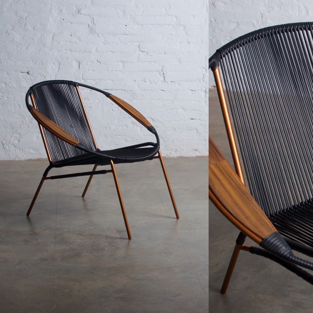 Solido Black Chair (Cooper Frame)