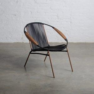 Jaimeluis Organic, Solido Black Chair