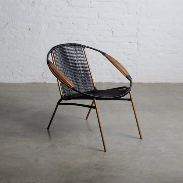 Jaimeluis Organic, Solido Black Chair