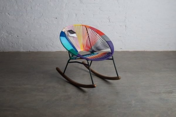 Tucurinca Tres Colorinche Rocking Chair