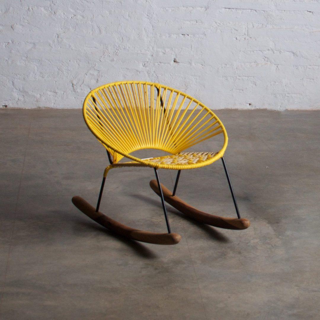 Tucurinquita Mini Rocking Chair Yellow