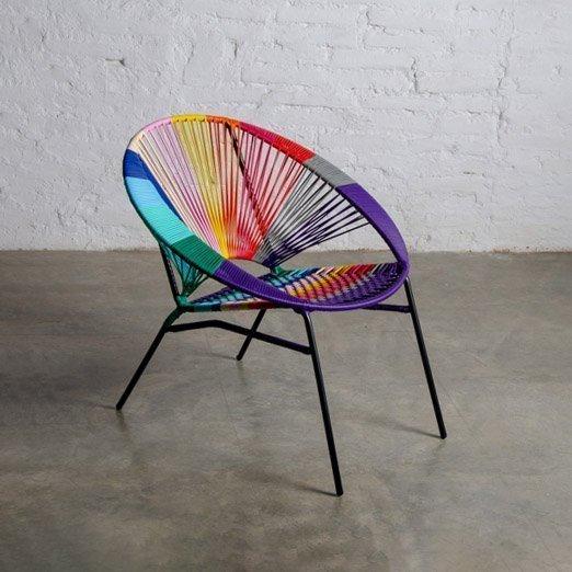 Tucurinca Tres Colorinche Chair Exotic Furniture Store | MIAMI, USA.
