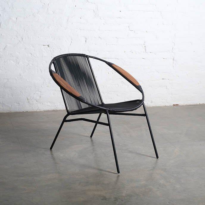Solido Black (black frame) Chair