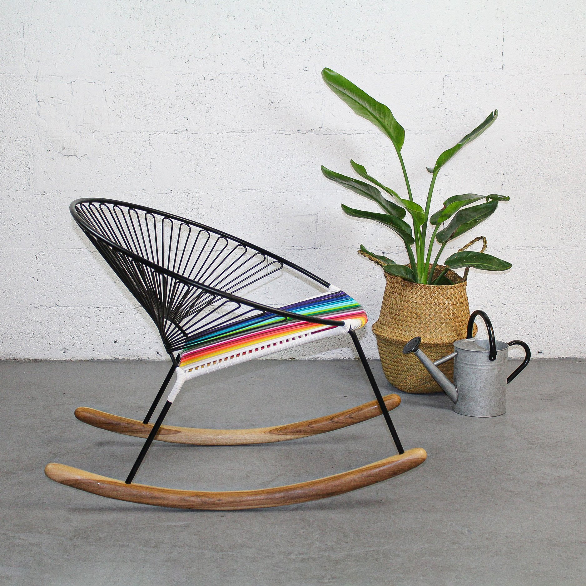 La Purohierro Recolorinche Rocking Chair