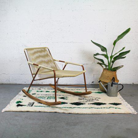 Mono Beige Rocking Chair